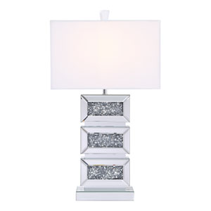 Sparkle Chrome 11-Inch One-Light Table Lamp