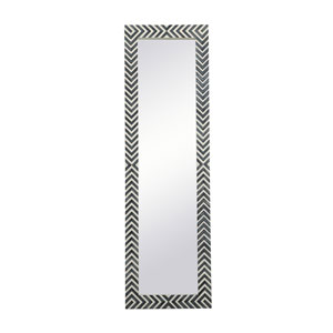 Colette Chevron 18 x 60 Inches Rectangular Mirror
