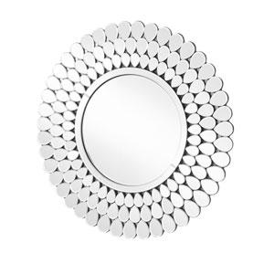 Sparkle Clear 32-Inch Mdf Round Mirror