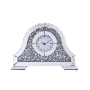 Sparkle Clear 16-Inch Table Top Clock