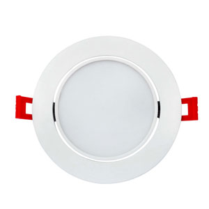 White 6-Inch 5000K LED Recessed Slim Light