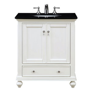 Otto Antique White 30-Inch Vanity Sink Set