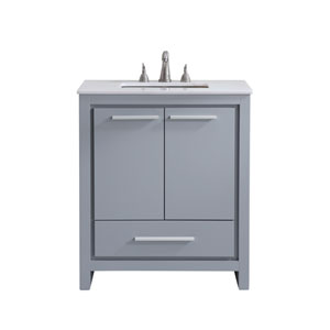 Filipo Gray 30-Inch Vanity Sink Set