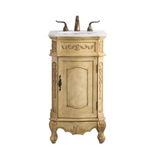 Danville Antique Beige 19-Inch Vanity Sink Set