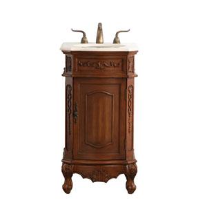 Danville Teak 19-Inch Vanity Sink Set