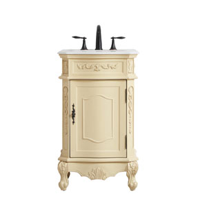 Danville Light Antique Beige 21-Inch Vanity Sink Set