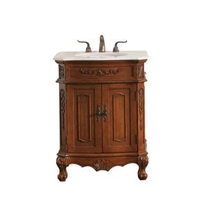 Danville Teak 27-Inch Vanity Sink Set