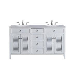 Cape Cod Antique White 21-Inch Vanity Sink Set