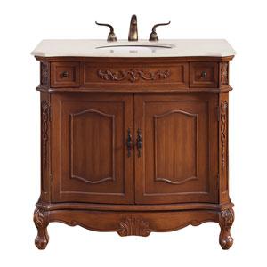 Danville Brown 36-Inch Vanity Sink Set