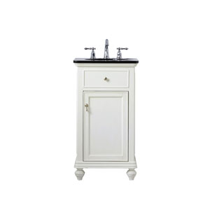 Otto Antique White 19-Inch Vanity Sink Set