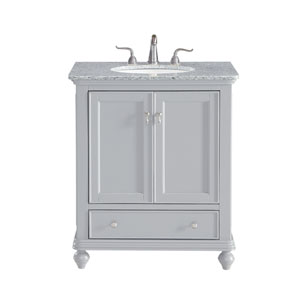 Otto Light Gray 30-Inch Vanity Sink Set