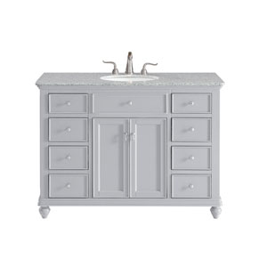 Otto Light Gray 48-Inch Vanity Sink Set