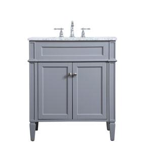 Williams Gray 30-Inch Vanity Sink Set