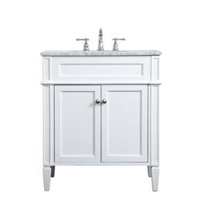 Williams White 30-Inch Vanity Sink Set