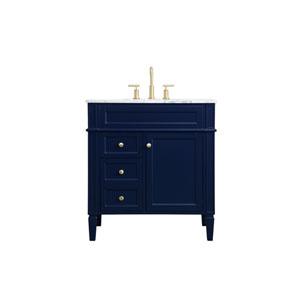 Williams Blue 32-Inch Vanity Sink Set