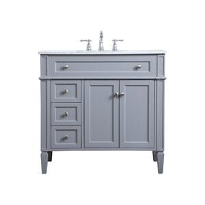Williams Gray 36-Inch Vanity Sink Set