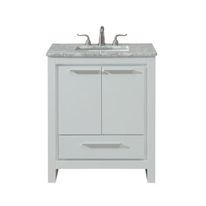 Filipo White 30-Inch Vanity Sink Set