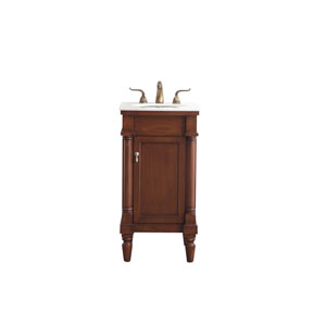 Lexington Walnut 18-Inch Vanity Sink Set