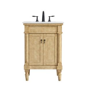Lexington Antique Beige 24-Inch Vanity Sink Set