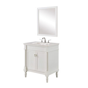 Lexington Antique White 30-Inch Vanity Sink Set
