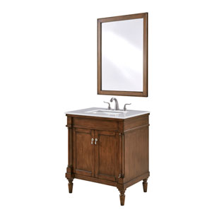Lexington Walnut 30-Inch Vanity Sink Set