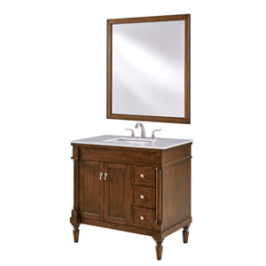 Lexington Walnut 36-Inch Vanity Sink Set