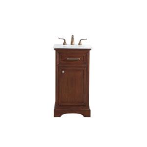 Americana Teak 19-Inch Vanity Sink Set