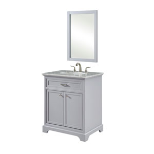 Americana Light Gray 30-Inch Vanity Sink Set