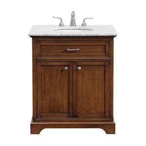 Americana Teak 30-Inch Vanity Sink Set