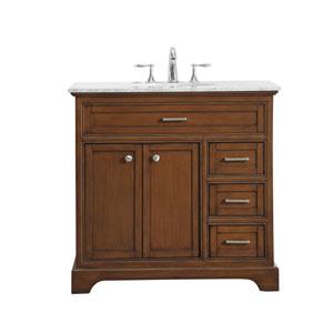 Americana Teak 36-Inch Vanity Sink Set