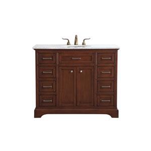Americana Teak 42-Inch Vanity Sink Set