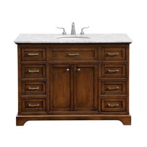 Americana Teak 48-Inch Vanity Sink Set