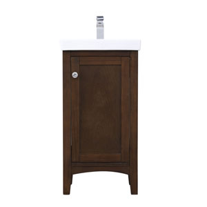 Mod Antique Coffee 18-Inch Vanity Sink Set