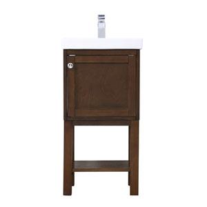 Mason Antique Coffee 18-Inch Vanity Sink Set