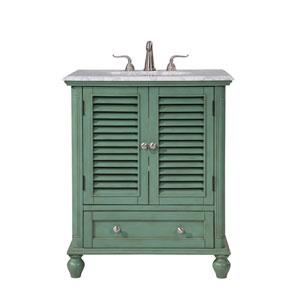 Rhodes Vintage Mint 30-Inch Vanity Sink Set
