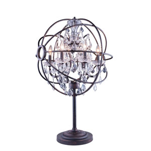 Geneva Dark Bronze Twenty-Two-Inch Table Lamp