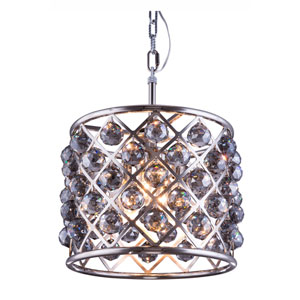 Madison Polished Nickel Four-Light Pendant with Royal Cut Silver Shade Crystals
