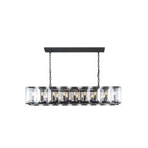 Monaco Matte Black 13-Inch 18-Light Pendant