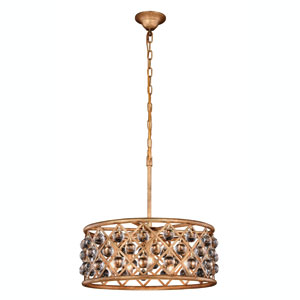 Madison Golden Iron 20-Inch Five-Light Pendant