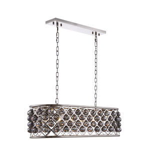 Madison Polished Nickel Six-Light Pendant