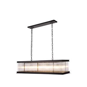 Royale Mocha Brown 14-Inch 10-Light Pendant