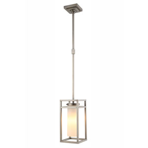 Bianca Vintage Nickel 8-Inch One-Light Mini Pendant