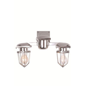 Kingston Chrome Eighteen-Inch Wall Sconce