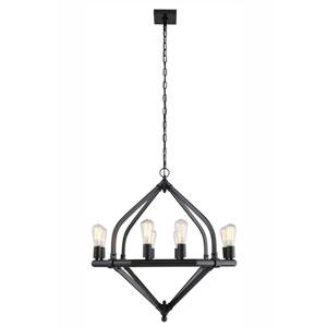 Illumina Bronze Eight-Light Chandelier