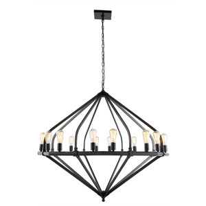 Illumina Bronze 16-Light Chandelier