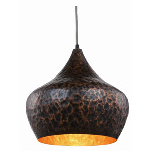 Seville Vintage Copper 15-Inch One-Light Pendant