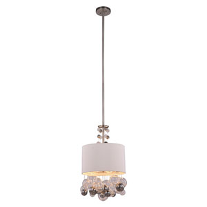 Milan Vintage Nickel Two-Light Pendant