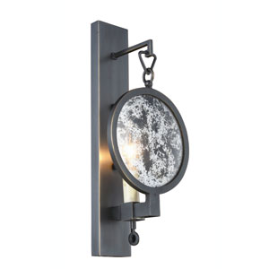 Twilight Bronze One-Light Wall Sconce