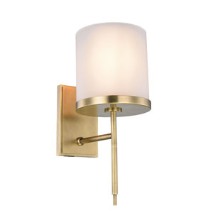 Bradford Burnished Brass One-Light Wall Sconce