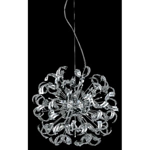 Tiffany Elegant Cut Crystal Chrome 30 Light 43-in Chandelier